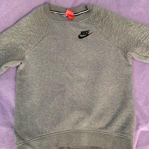 Gray Nike Crewneck!